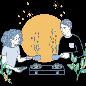 Icon - Home roasting